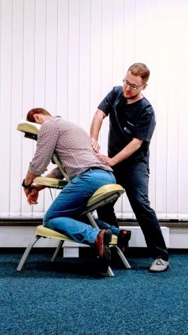 masaż biurowy work site